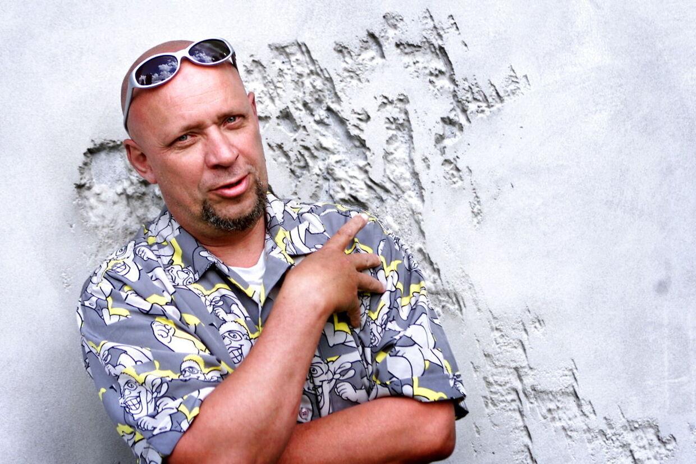 Musikeren Frede Fup.