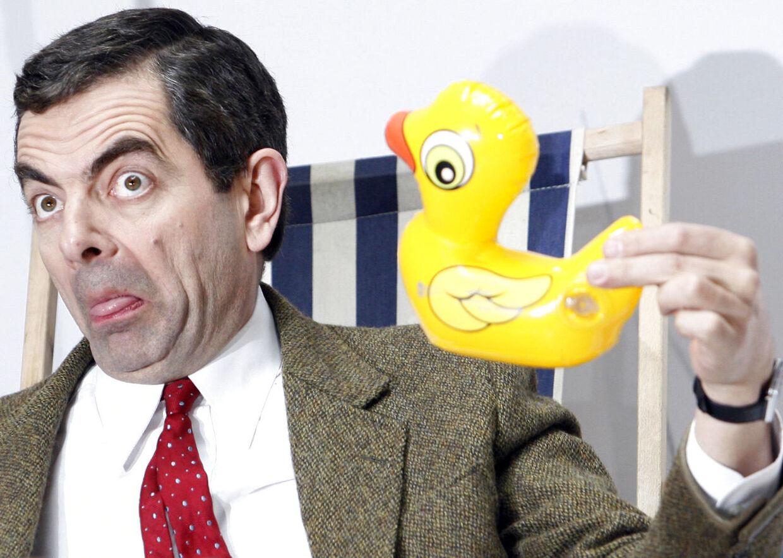 Komikeren Rowan Atkinson er træt af at spille Mr. Bean