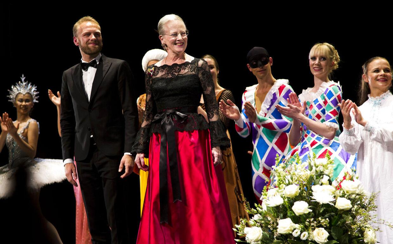 Premiere på Nøddeknækkeren i Tivoli torsdag 22. november 2012.