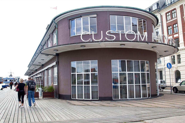 Restauranten Custom House er tegnet af arkitekt og kongelig bygningsinspektør Kristoffer Nyrop Varming.