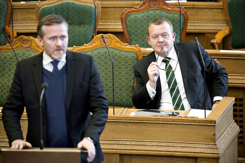 Arkivfoto: Anders Samuelsen og Lars Løkke Rasmussen.