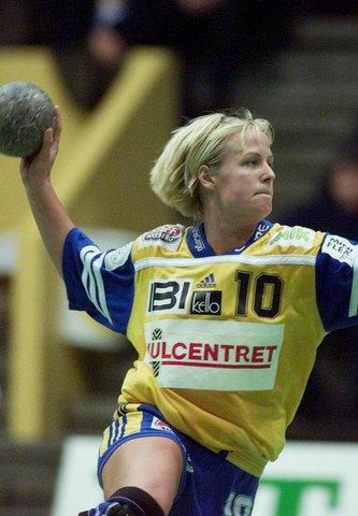 Åsa Eriksson, her i Ikast-dragten, er på vej tilbage til dansk håndbold. Arkivfoto: Claus Fisker