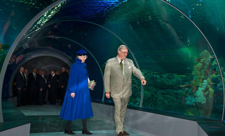 Regentparret deltager i dag i indvielsen af 'Den Blå Planet'.