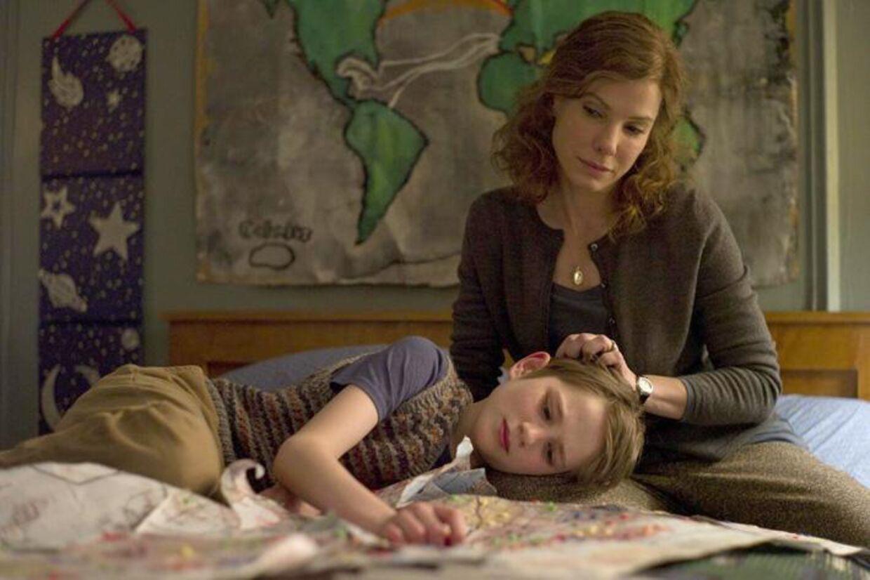 Sandra Bullock og Tom Hanks spiller Oskars forældre, men det er Thomas Horn der blænder i rollen som den lidt sære 11-årige Oskar.
