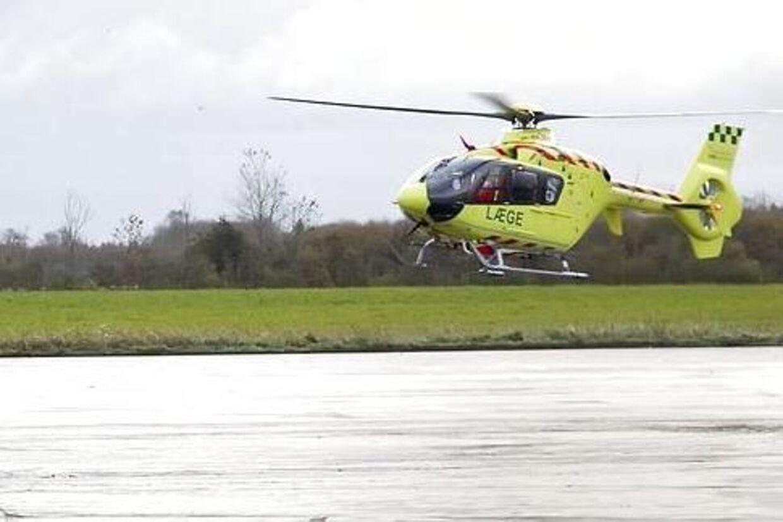 Redningshelikopter. Arkivfoto