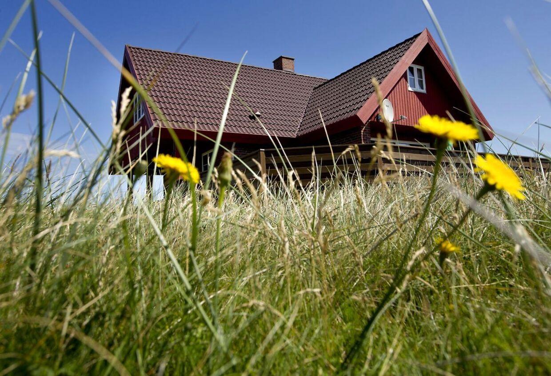 Else og Axel har haft sommerhus i Vejlby Klit ved Vesterhavet siden 1981.