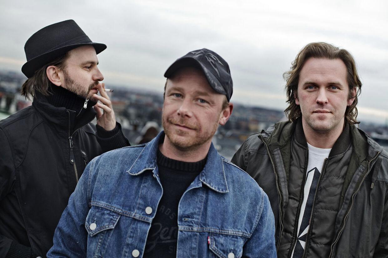 BT Dizzy mizz lizzy. Thim Christensen, Søren Friis og Martin Nielsen