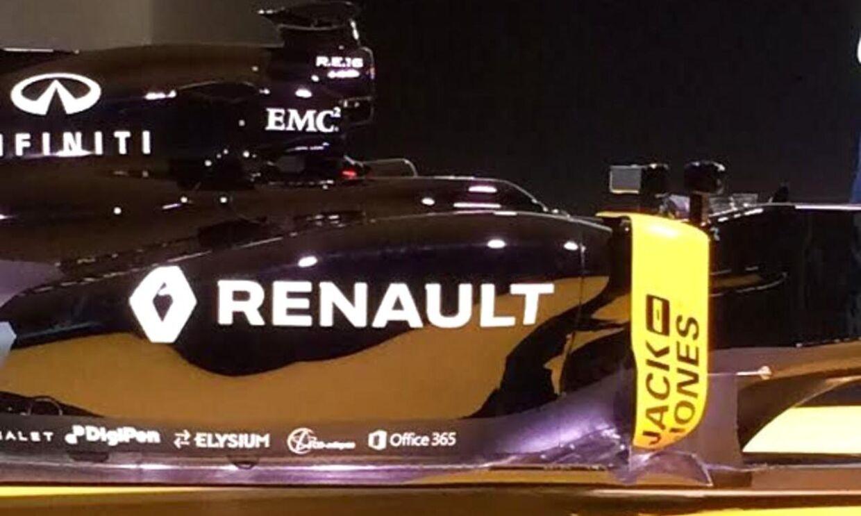 Danske Bestseller er medsponsor på Renaults Formel 1-bil.