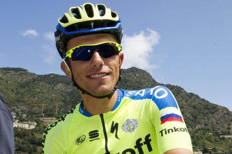 Rafal Majka og de øvrige ryttere fra Tinkoff-Saxo stillede også til start til 12. etape i Vuelta a España trods trusler fra holdet om det modsatte.