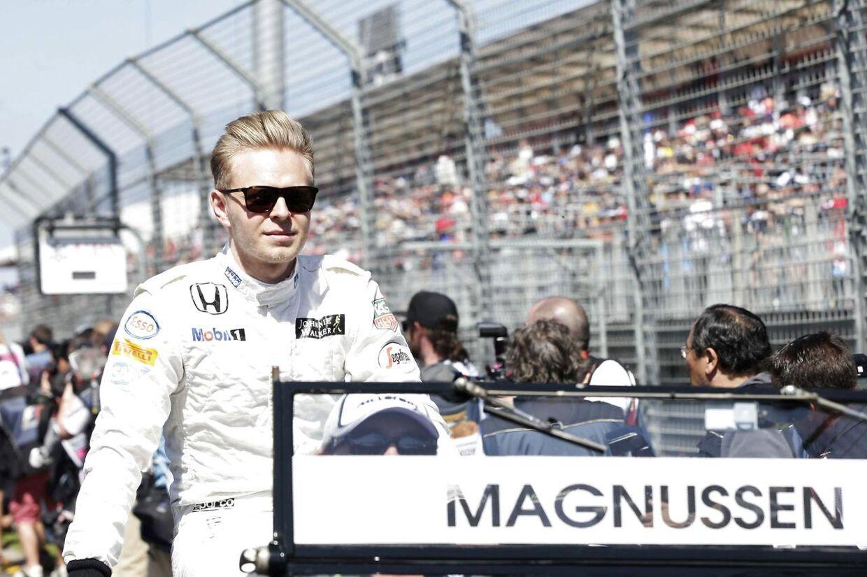 ARKIVFOTO. Autosport skriver, at den danske racerkører Kevin Magnussen på onsdag i Paris præsenteres hos Renault.
