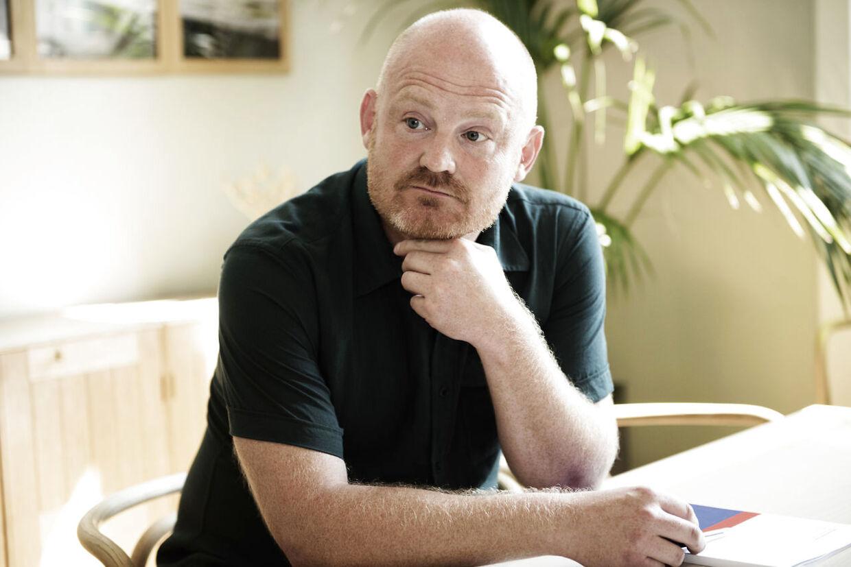 Den cykelglade teknikborgmester i Københanvs Kommune Morten Kabell (E) bruger formue på at indrette sit kontor med designermøbler - skatteyderne betaler.