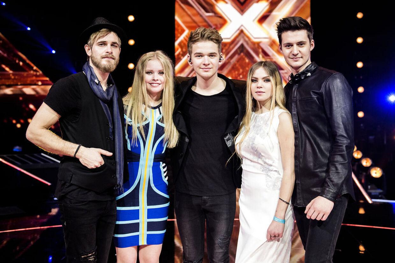 Citybois var egentlig ikke med i 'X Factor'-finalen, men dukkede konstant op og tog opmærksomheden, mener nogle af finalens egentlige deltagere.
