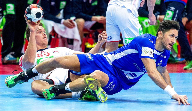 Island og Norge mødte hinanden tidligere i gruppespillet. Her vandt Island med et mål, 26-25.