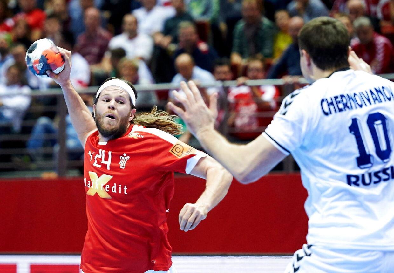 Mikkel Hansen og co. skal forsøge at følge op på sejren over Rusland ved at hente to nye point mod Montenegro.