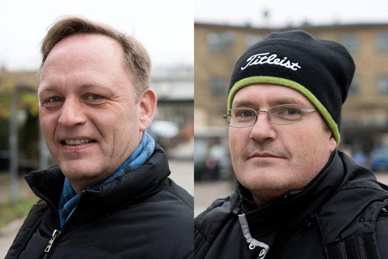 Peter Holst og Jan Hansen