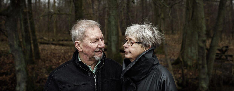 Jens-Ole og Lene Blak ser konsekvenserne af Jens-Oles demens i øjnene sammen. Foto: Niels Ahlmann Olesen