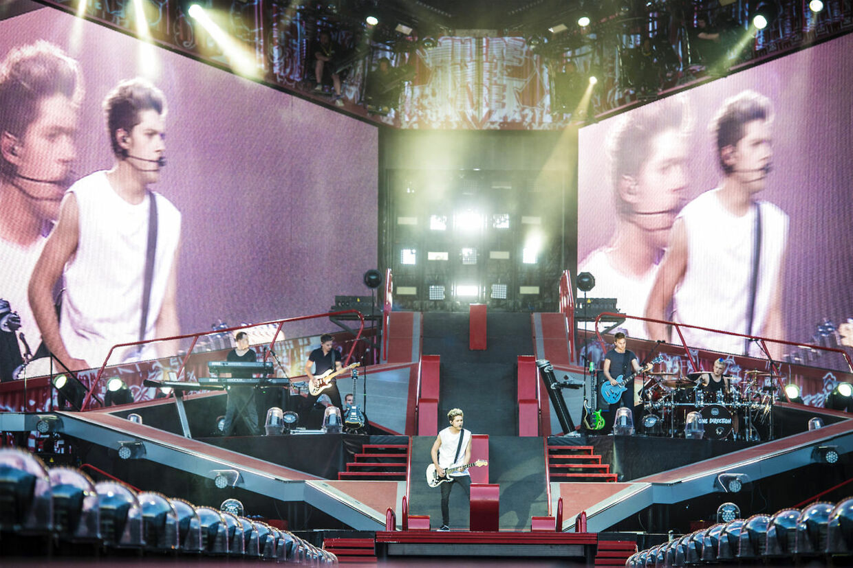 One Direction gav koncert i Parken i København