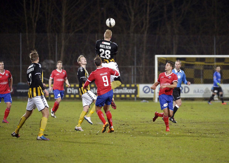 Pokalkvartfinale: Brønshøj-FC Vestsjælland .Onsdag d. 4. marts