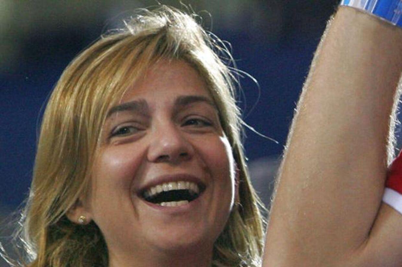 Den spanske prinsesse Cristina.