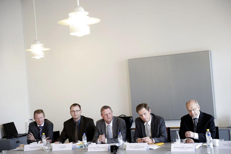 De økonomiske vismænd om dansk økonomi. Hans Jørgen Whitta-Jacobsen, Claus Thustrup Kreiner og Eirik Schrøder Amundsen.