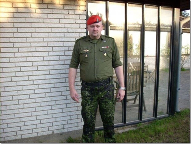 Kenneth Jönsson indrømmer, at han aldrig har været soldat.