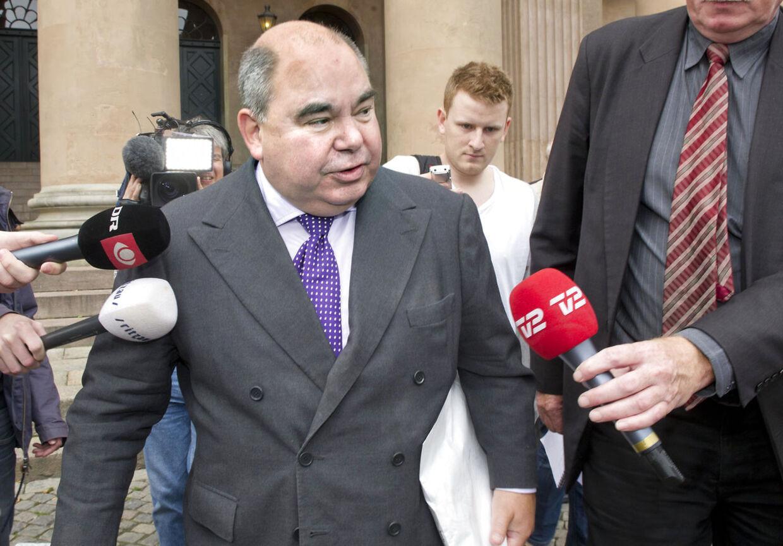 Kurt Thorsen og hans forsvarer Lars Henriksen kæmper nu for en Højesteretssag. (Foto: Jens Nørgaard Larsen/Scanpix 2011)