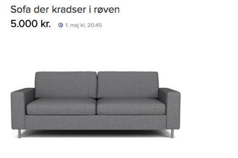 dba sofa Alternativ DBA annonce: Køb grim sofa, der kradser i røven | BT  dba sofa