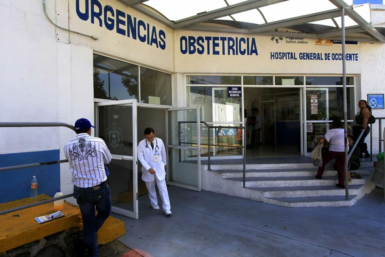 Ni-åge Dafne fødte en datter d. 27 januar på dette hospital i Guadalajara. Nu viser det sig, at hun sandsynligvis er mere end 15 år.