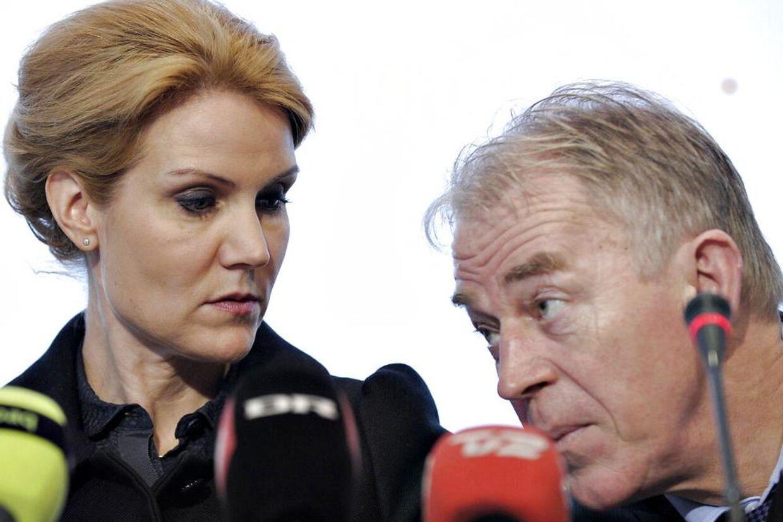 Helle Thorning-Schmidt og Villy Søvndal.