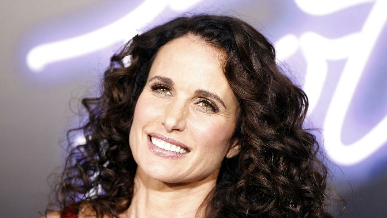 Arkivfoto: Andie MacDowell (UNITED STATES - Tags: ENTERTAINMENT)