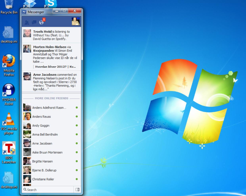 Facebook Messenger er ikke længere kun at finde på din smartphone. Nu kan du også bruge den direkte fra dit Windows-skrivebord.