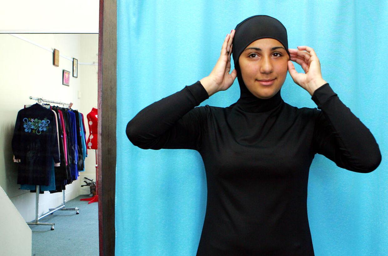 badedragt til muslimske kvinder