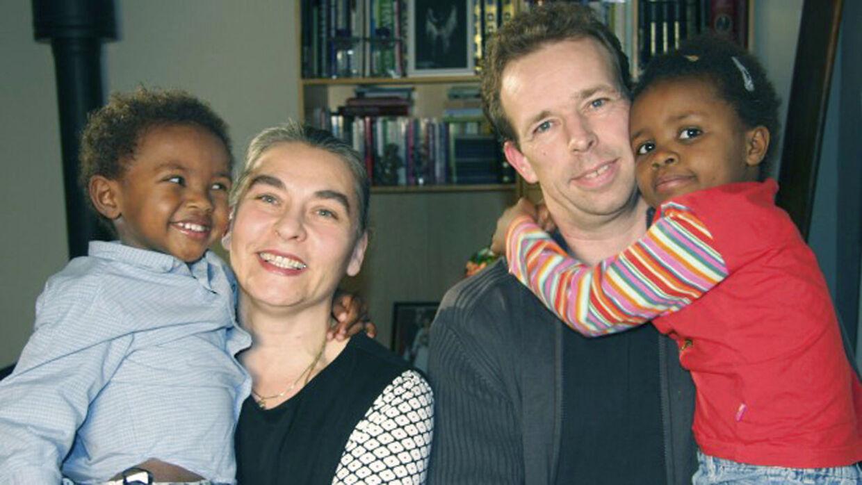 Familien fra 'Mercy, mercy - Adoptionens pris', der blev sendt mandag den 26 november 2012 på TV2