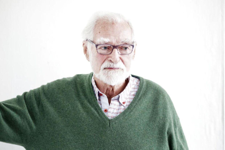 Kunstneren og modstandsmanden Knud Pedersen er død, 88 år gammel.