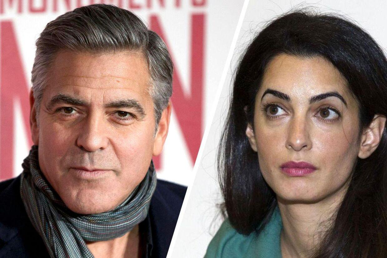 En af Hollywoods mest berømte skuespillere - og mest eftertragtede ungersvende - George Clooney skal giftes.Foto: Neil Hall, Reuters / Justin Tallis, AFP Photo