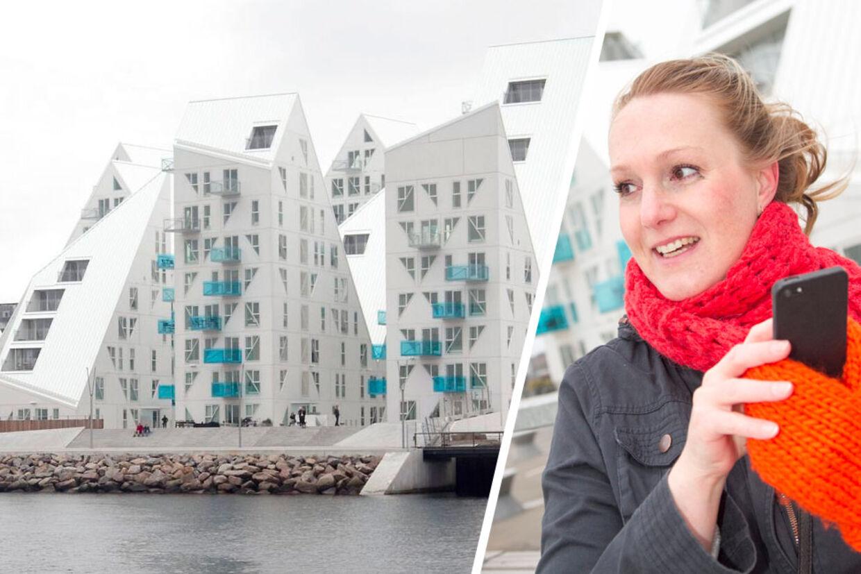 Tenna Klit blev så træt af ikke at kunne bruge sin mobiltelefon inden døre, at hun sagde sin lejlighed i Isbjerget op og flyttede fra den for få dage side.