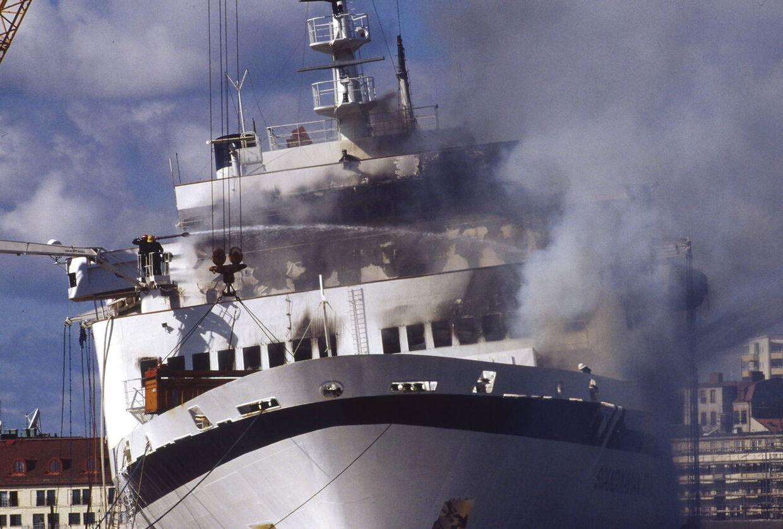 Brand på færgen Scandinavian Star d. 7. april 1990. 158 mennesker omkom.