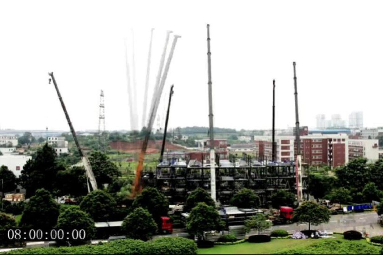 Se videoen fra byggeriet nederst i artiklen