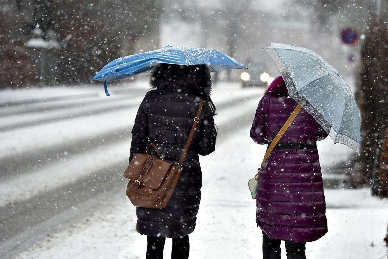 Det er med at få vintertøjet frem, for fra på torsdag kommer sneen og kulden.