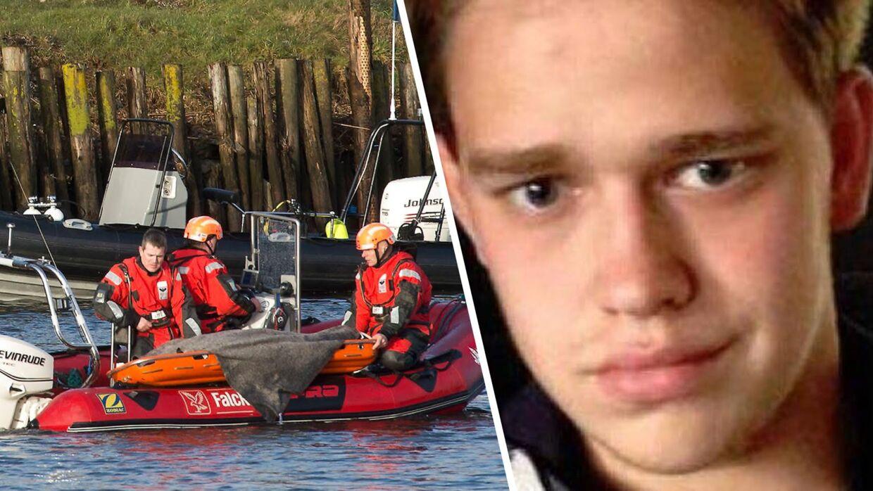 Thomas Stralner er lørdag fundet død i havnen i Randers. Han blev 19 år.