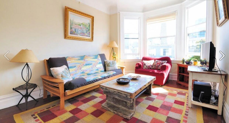 Billede af Michelle Huangs og Tommy Paynes lejlighed.Foto: Facebook
