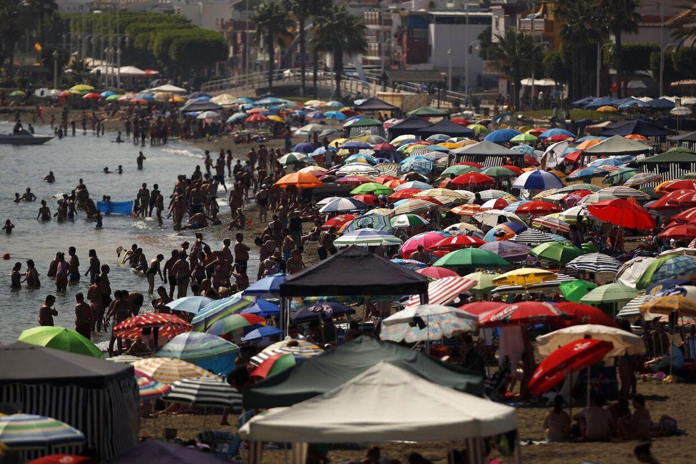 Arkivofoto: Normalt er Malaga kendt for sine gode strande og varme vejr, men natten til søndag blev byen ramt af et jordskælv POLITICS TRAVEL BUSINESS ENVIRONMENT)