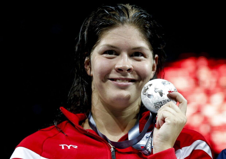- Min selvtillid fik et kæmpe boost af VM, og nu tror jeg igen på, at jeg kan udrette noget til OL i Rio i 2016. Der går jeg efter at tage en medalje, siger Lotte Friis.