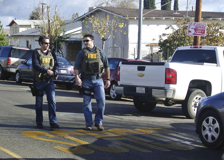 Politiet måtte rykke ud til skyderi på skolen i Taft, Californien.