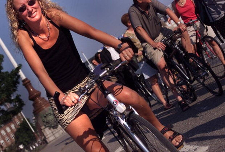 De københavnske cykelstier gør indtryk på Lonely Planets fofatter. Foto: Bardur Eklund