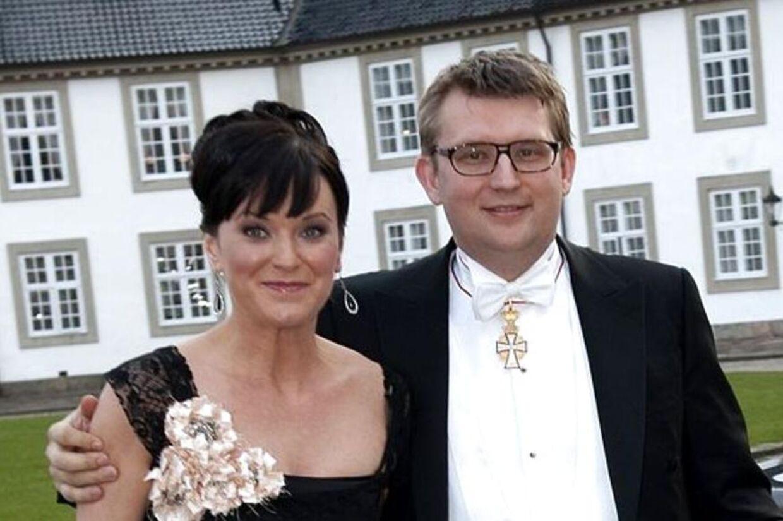 Troels Lund Poulsen havde Sophie Løhde med på Fredensborg Slot til officiel statsmiddag, mens de stadig var et par.