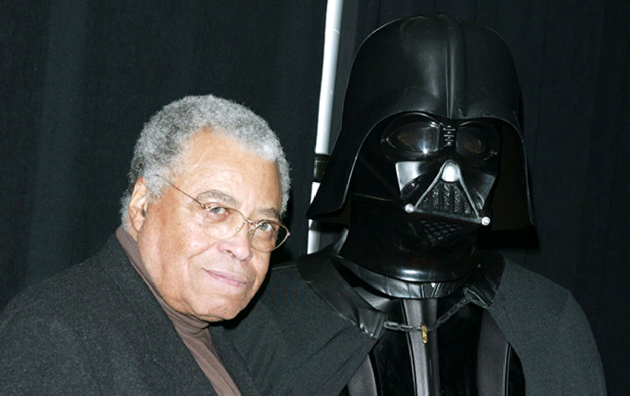 James Earl Jones spillede ikke Darth Vader, men lagde stemme til rollen i de første Star Wars-film.