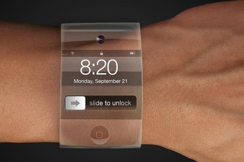 Sådan forestiller designeren Yrving Torrealba, at Apples nye armbåndsur/iPhone kommer til at se ud.