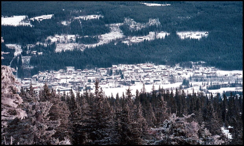 Arkivfoto: Overblik over Trysil-området