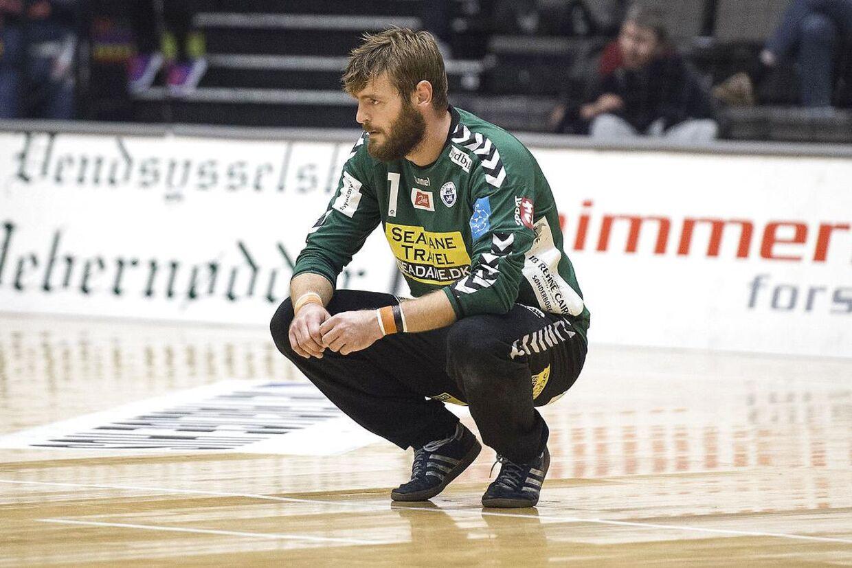 Sønderjyskes målmand Ander Gubi Petersen havde grund til at være tilfreds med sejren over Skanderborg